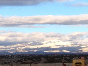The Sangre de Cristo Mountains never looked the same twice.