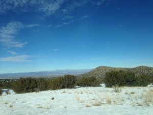 We took the Scenic Highway 14 drive to Albuquerque and the vistas were very beautiful.
