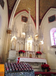 We were lucky to attend an intimate Christmas concert one evening inside the Loretto Chapel. The Santa Fe Pro Musica Baroque Ensemble performed a collection of music by Handel, Vivaldi and Bach.