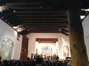 We also attended a performance by the Santa Fe Pro Musica Orchestra of Bach's Brandenburg Concertos in the St. Francis Auditorium at the New Mexico Museum of Art.