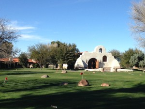 The Tubac Golf Resort and Spa was lovely.