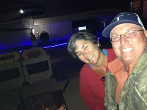 Campfire selfie.