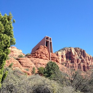 Chapel of the Holy Cross in Sedona.