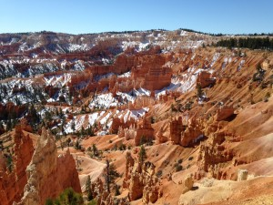The amphitheater at Bryce Canyon.