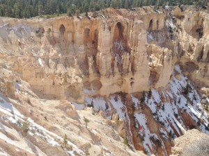 Grottos at Bryce Canyon.