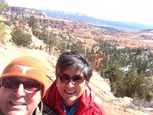 Bryce Canyon selfie.