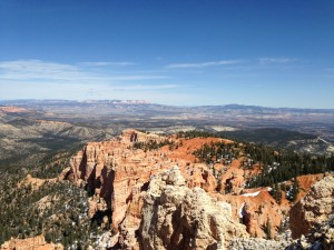 Bryce Canyon vista.