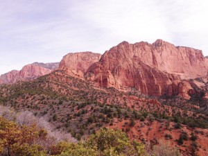 More dramatic landscapes in Zion Kolob.
