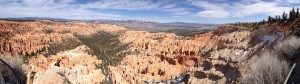 Panorama from Bryce Point.