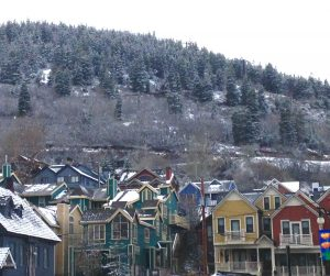 Park City is such a cute historic mining town. I love how the ski runs come straight into downtown!