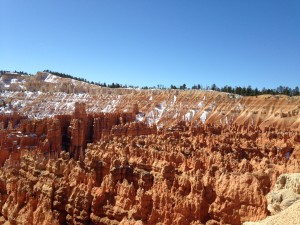 Sunrise Point at Bryce Canyon National Park.