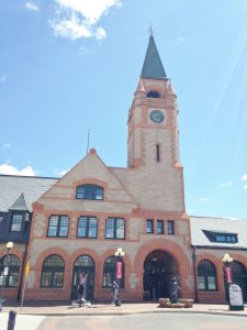 The Cheyenne Depot building.