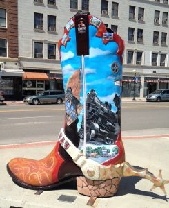The Downtown Cheyenne Boot.