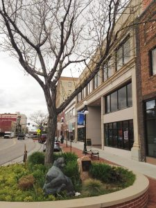 Downtown Casper was a fun place to explore.
