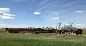Fort Caspar was a military post of the U.S. Army. It was established in 1859 as a trading post and a toll bridge on the Oregon Trail. The Army eventually took it over and made it a post to protect emigrants and the telegraph line against raids from the Lakota and Cheyenne Indians.