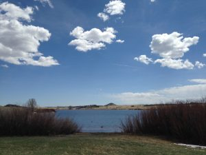 Granite Reservoir at Curt Gowdy State Park.