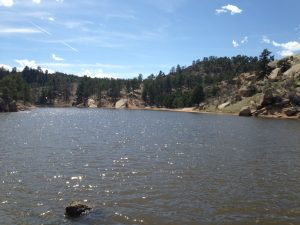 "A ""side lake"" near the Granite Reservoir."