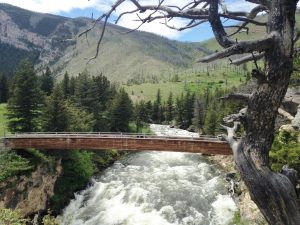 The Boulder River is a tributary of the Yellowstone River. It rises in the Gallatin National Forest in the Absaroka Mountain Range and flows north to Big Timber, where it hooks up with the Yellowstone River.