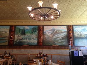 "The interior of the Red Lodge Café was so ""Montana""!"