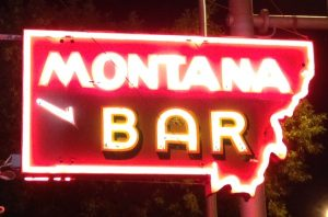 Best Bar: Montana Bar, Miles City, Montana. Established in 1908 and hasn't changed since. Beautiful wooden bar, stained glass, tile floors, pressed tin ceilings, longhorn mounts on the wall. Impeccably clean. Good drinks, delicious food. Not disturbed by modern day technology... TV's are in the adjoining sports bar next door.