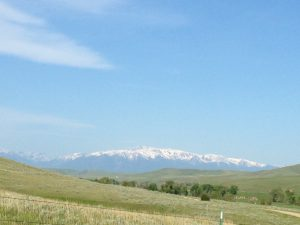 Absaroka Mountain Range