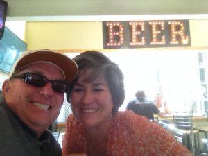 Beer Selfie.