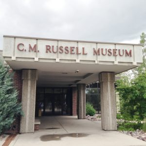 We weren't allowed to take photographs inside the C.M. Russell Museum, but it was a highlight on our stop. The facility houses an amazing amount of art by Great Falls' Charlie Russell, as well as other notable western artists.