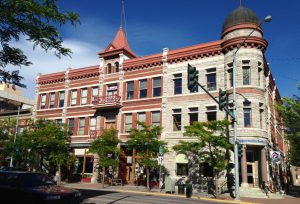 One of the lovely historic buildings in downtown Missoula.