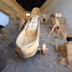 Another amazing museum in Great Falls was the Lewis and Clark Interpretive Center.