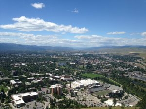 Missoula from the M.
