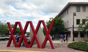 The X's by the depot in downtown Zootown.