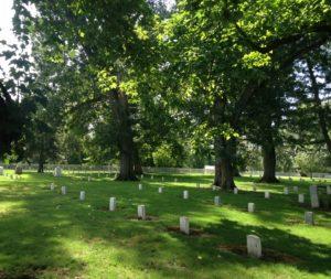 Fort Walla Walla Cemetery.