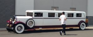 Wine tasting limo spotted at Walmart.