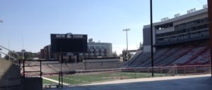 The WSU Stadium.