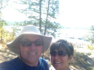 Tubbs Hill selfie.