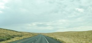 Highway 395 South toward the Tri-Cities.