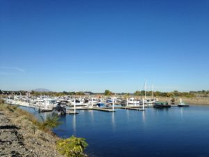 A marina in Richland.