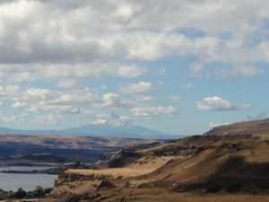 Mount Hood from the Maryhill Museum of Art.
