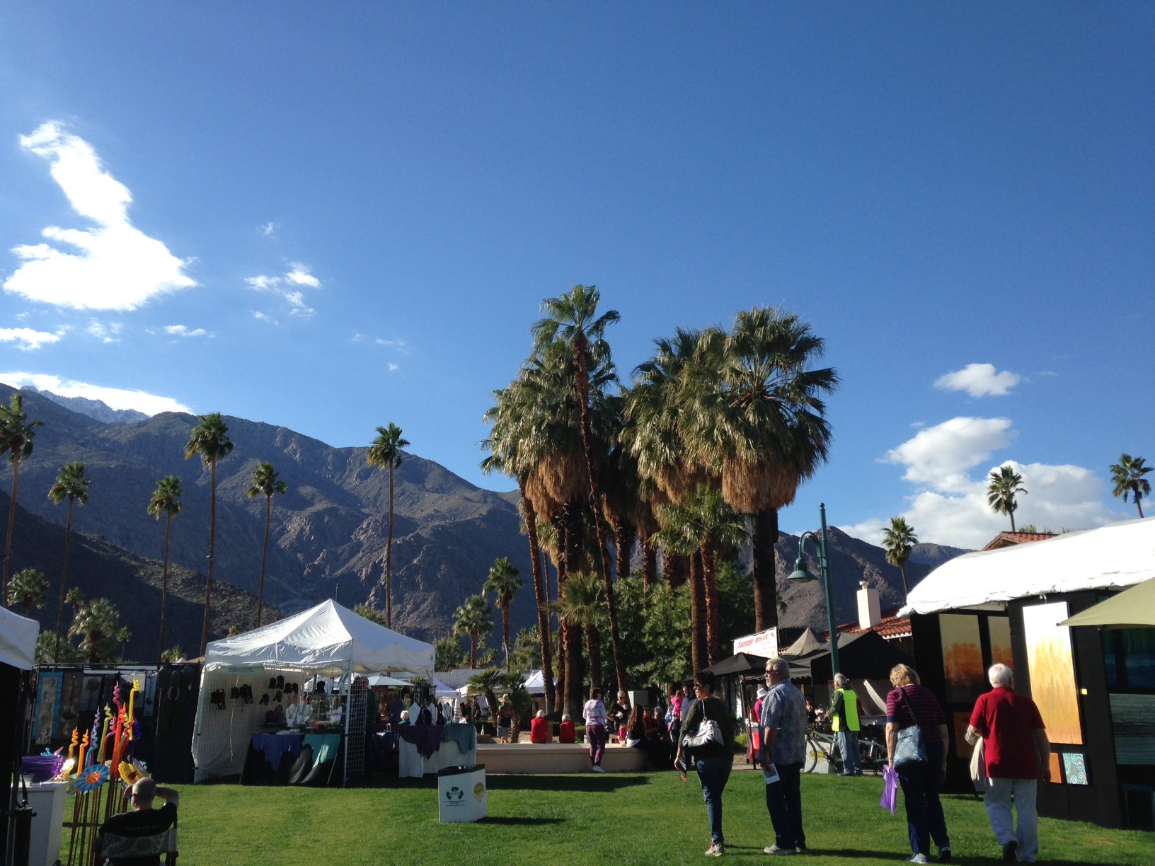 The martin 39 s american adventure the lower 48 in 48 tour for Palm springs craft fair
